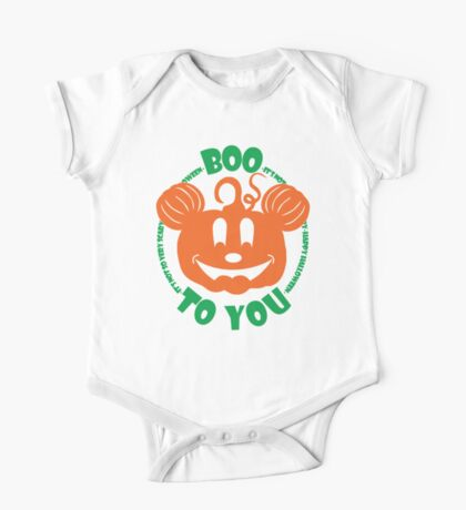 Boo To You One Piece - Short Sleeve