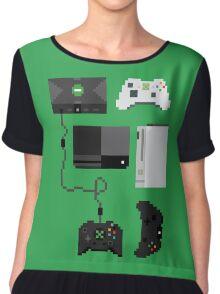 Pixel History - Xbox Chiffon Top