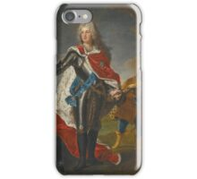 Hyacinthe Rigaud PORTRAIT OF FREDERICK AUGUSTUS II, ELECTOR OF SAXONY  iPhone Case/Skin