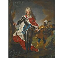 Hyacinthe Rigaud PORTRAIT OF FREDERICK AUGUSTUS II, ELECTOR OF SAXONY  Photographic Print