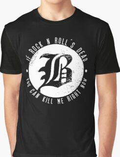 Beartooth Rock Is Dead Graphic T-Shirt