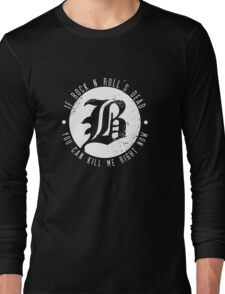 Beartooth Rock Is Dead Long Sleeve T-Shirt
