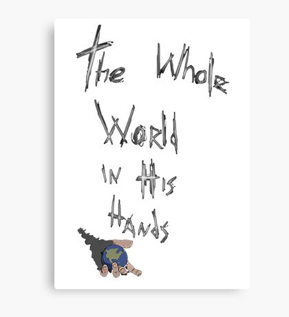 The Whole World in His Hands- Bray Wyatt T-shirt Canvas Print