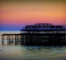 West Pier ©  by Dawn M. Becker