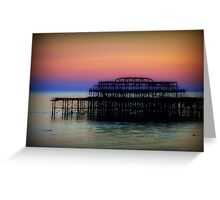 West Pier ©  Greeting Card
