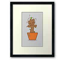 Dancing Baby Guardian Framed Print
