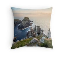 The Malin Head / County Donegal / Ireland Throw Pillow