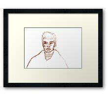 James Kirk Framed Print