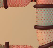 Snuggle Font: Letter A Sticker