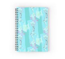 Floaty Sailor Tattoo Girl Spiral Notebook