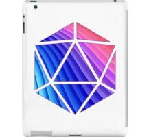 d20 ribbon design iPad Case/Skin
