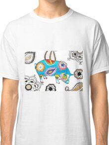 Blue Pig Classic T-Shirt