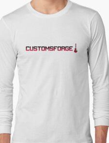 CustomsForge pixel logo Long Sleeve T-Shirt