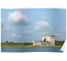 Fort Matanzas National Monument Poster