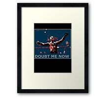 Conor Mcgregor - Doubt Me Now Framed Print