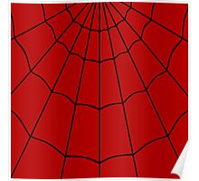 Spider Web - Red Poster