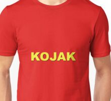 """Kojak"" retro design Unisex T-Shirt"