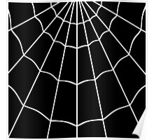 Spider Web - Black Poster