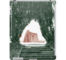 Garden arch iPad Case/Skin