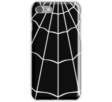 Spider Web - Black iPhone Case/Skin