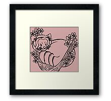 In the Cherry Blossoms Framed Print