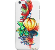 Becoming the Butterfly iPhone Case/Skin