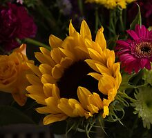Sunflower Bouquet by Janice Heppenstall