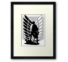 Attack on Titan Levi Framed Print