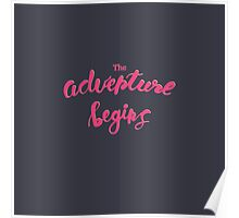 The Adventure begins! Be Wild! Poster