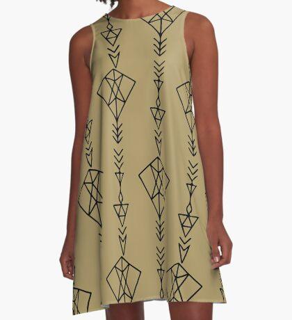 Arrow A-Line Dress