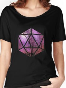 Purple trees d20 Women's Relaxed Fit T-Shirt