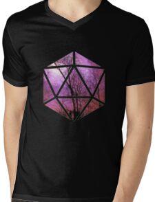 Purple trees d20 Mens V-Neck T-Shirt