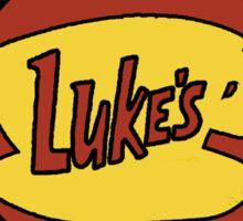 Gilmore Girls ~ Luke's Diner Logo Sticker