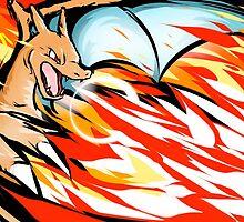 Pokemon - Charizard Overheat by SamSaab