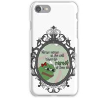 Rarest Pepe of them all iPhone Case/Skin