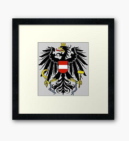 AUSTRIA (COAT OF ARMS) Framed Print