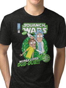 Squanch Wars Tri-blend T-Shirt
