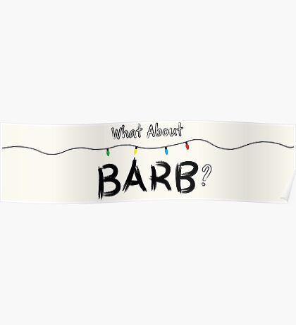 What About Barb? Poster