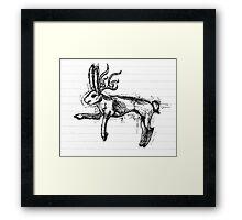 Jackalope Framed Print