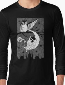 Thirsty Owl by Allie Hartley  Long Sleeve T-Shirt