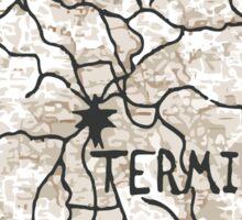 Terminus Map Sticker