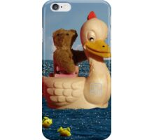 Tiny Teddy and Ducky's Voyage of Adventure iPhone Case/Skin