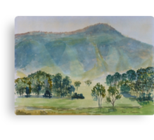 Distant Hills Canvas Print
