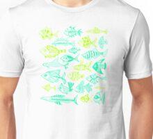 Green Inked Fish Unisex T-Shirt