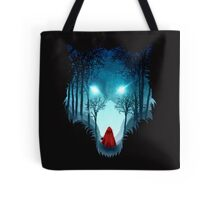 Big Bad Wolf (dark version) Tote Bag