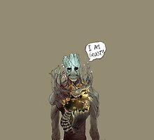 Guardians of the Galaxy - I Am Groot by SamSaab