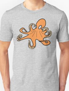 The Ultimate Creamsicle Octopus Unisex T-Shirt