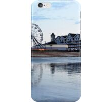 Reflections on low tide at dawn iPhone Case/Skin
