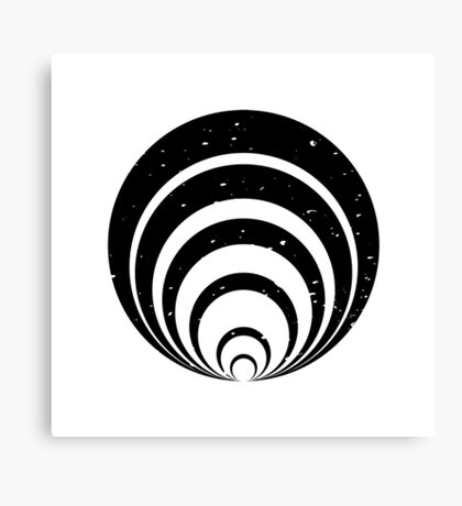 SPACE aka The Twilight Zone Canvas Print