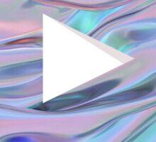 Youtube Logo Swirl Sticker